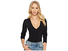 Free People Free People Super Soft Deep V Bodysuit