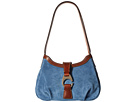 Dooney & Bourke Dooney & Bourke Derby Suede Shoulder Bag