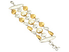 Lucky Brand Lucky Brand Pearl Layer Bracelet