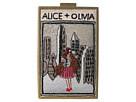 Alice + Olivia Sophia Vintage New York North South Clutch