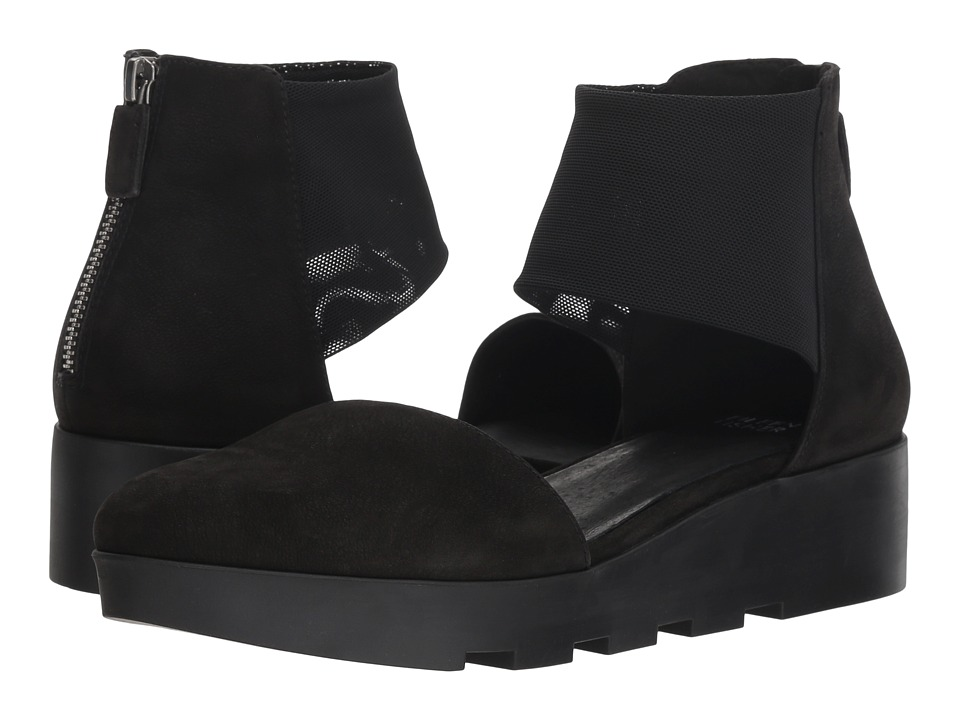 Eileen Fisher Mesh (Black Nubuck) Women's Shoes