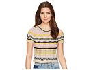 M Missoni Wave Crochet Top