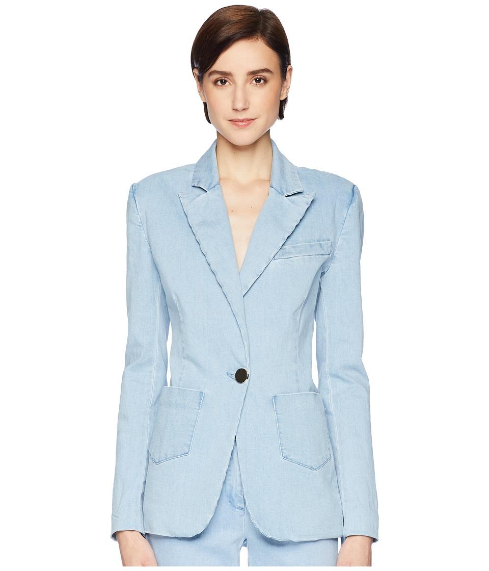 Rachel Zoe - Shannon Jacket (Light Chambray) Womens Coat