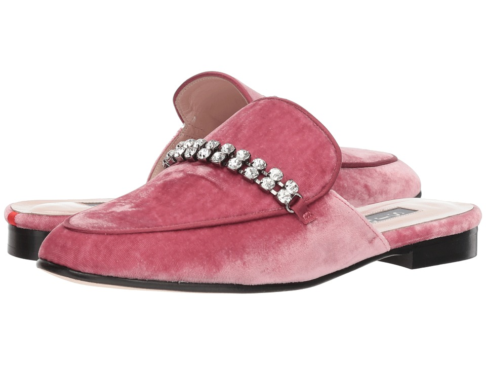 SJP by Sarah Jessica Parker Twain (Polite Pink Velvet) Women's Shoes