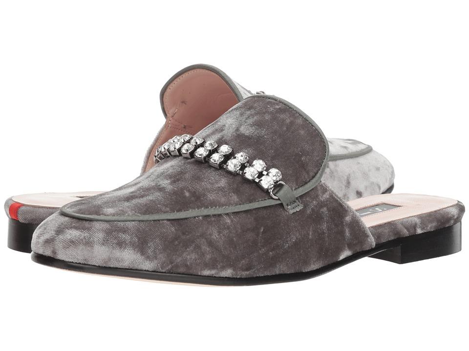 SJP by Sarah Jessica Parker Twain (Grey Velvet) Women's Shoes