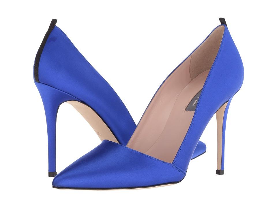 SJP by Sarah Jessica Parker Rampling (Expert Blue Satin) Women's Shoes