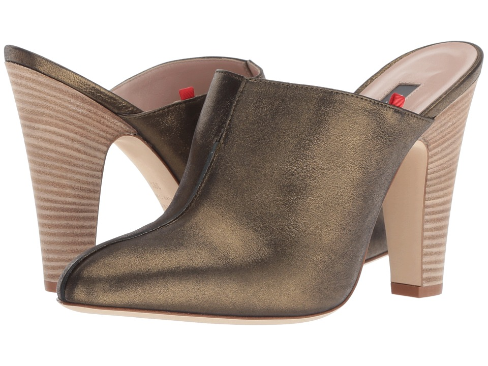 SJP by Sarah Jessica Parker Rigby (Olive Metallic Leather) Women's Shoes