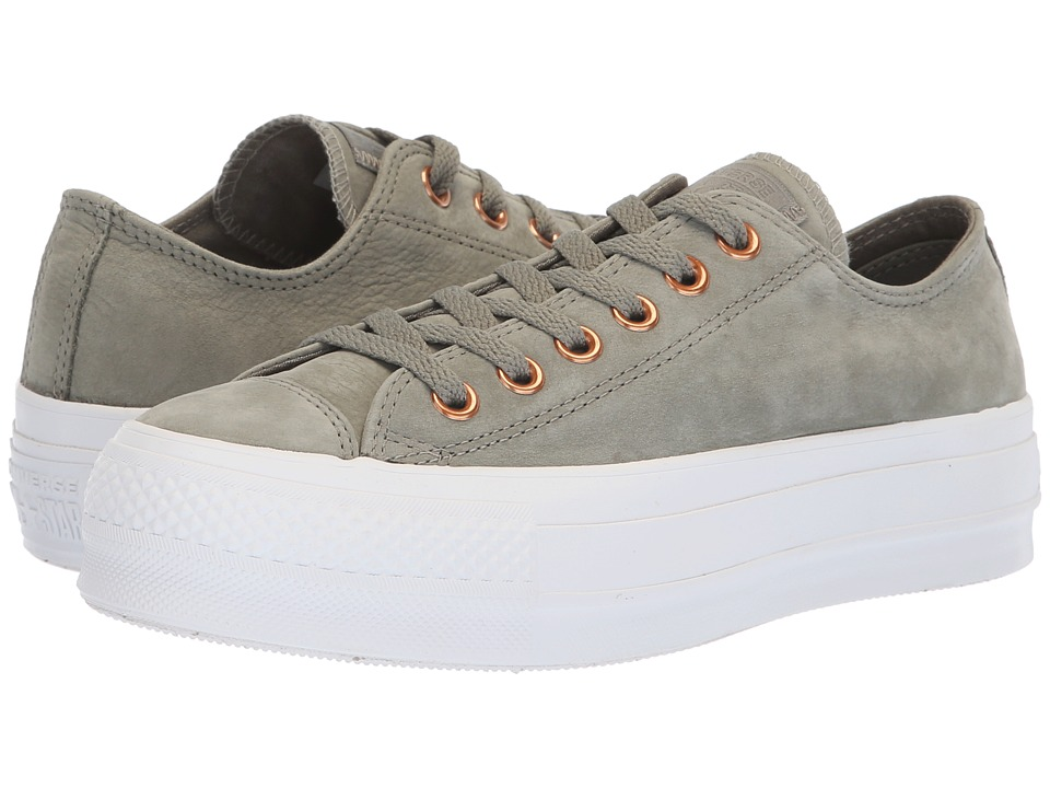 Converse Lift Platform (Dark Stucco) Women's Shoes