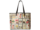 Alice + Olivia Missy Vintage Collage Large Perfect Tote