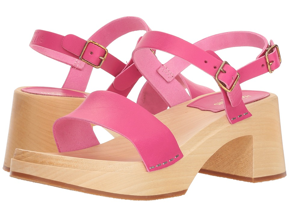 Swedish Hasbeens Gittan (Neon Pink) Sandals