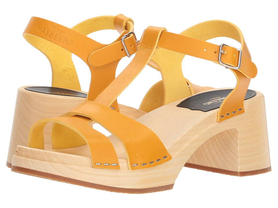 Swedish Hasbeens Birgit (Warm Yellow) Sandals