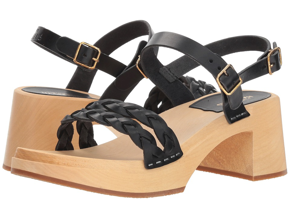 Swedish Hasbeens Tanja (Black) Sandals