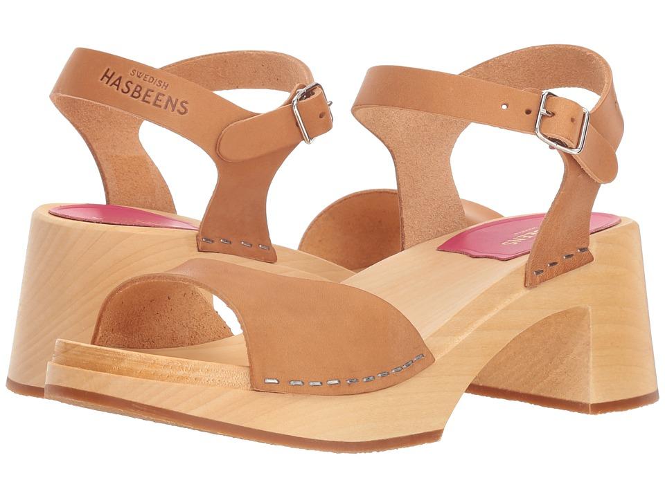 Vintage Sandals | Wedges, Espadrilles – 30s, 40s, 50s, 60s, 70s Swedish Hasbeens Mia Nature Womens Sandals $209.00 AT vintagedancer.com