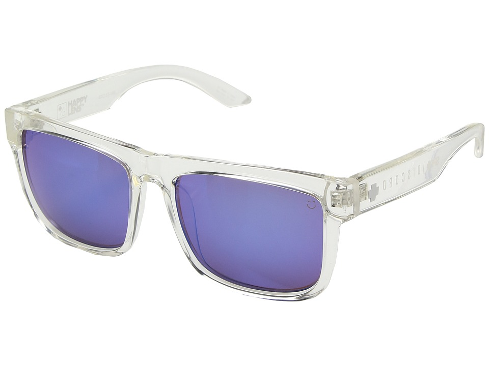 Spy Optic - Discord (Clear/Happy Bronze/Dark Blue Spectra) Sport Sunglasses