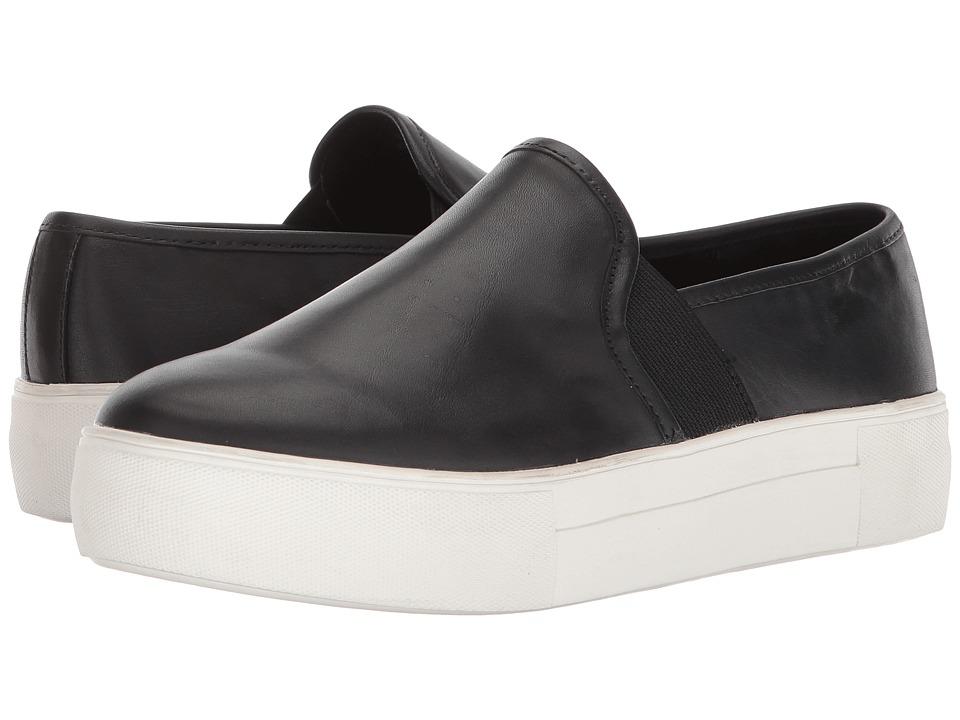 Blondo Glance Waterproof Sneaker (Black Leather) Women's Shoes