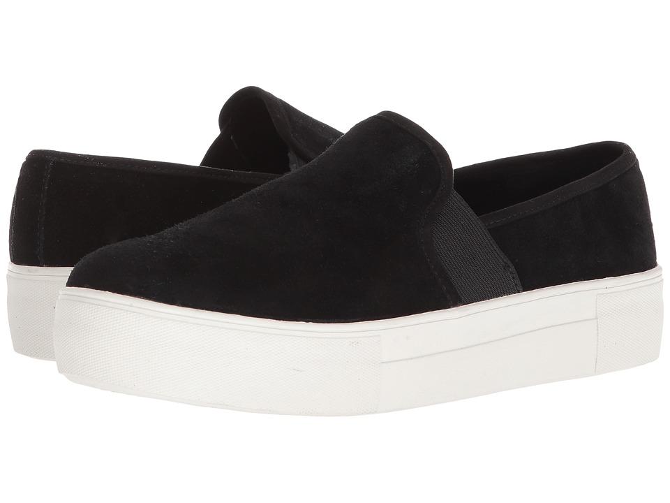 Blondo Glance Waterproof Sneaker (Black Suede) Women's Shoes