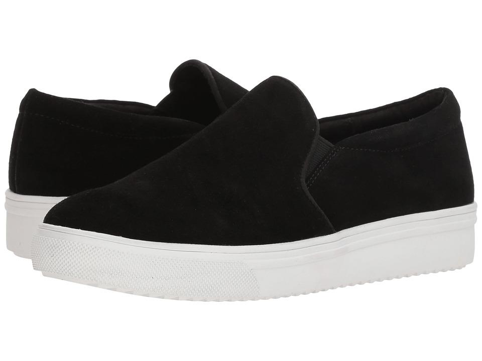 Blondo Gracie Waterproof Sneaker (Black Suede) Women's Shoes