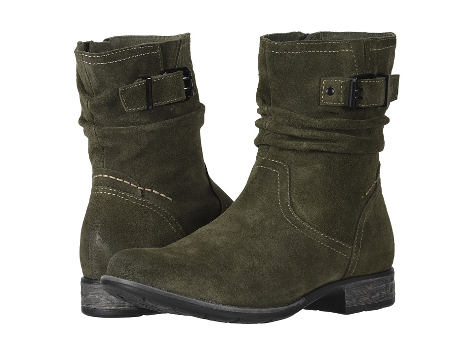 Earth Beaufort (Olive Suede) Women's  Boots