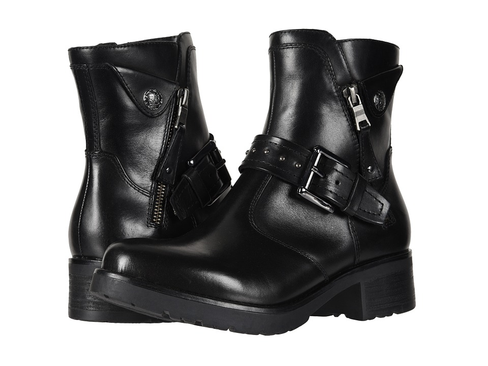 Earth Drumlin (Black Calf) Women's  Boots