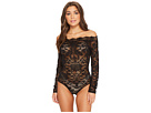 Felina Eliza Off Shoulder All Lace Bodysuit
