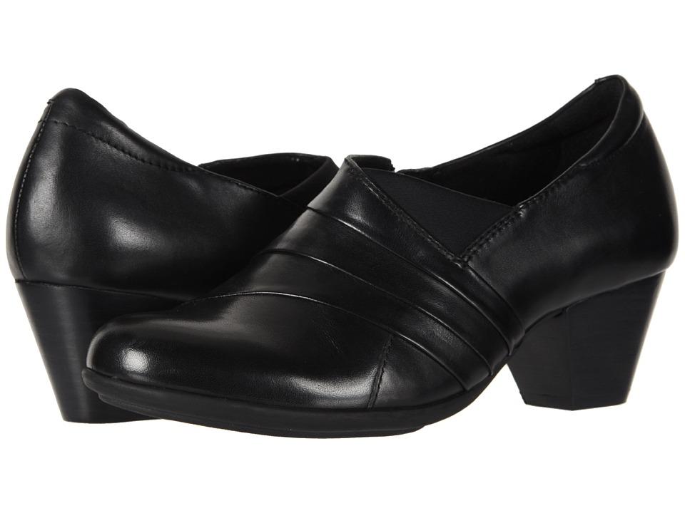Earth Glory (Black Soft Calf) Women's Shoes
