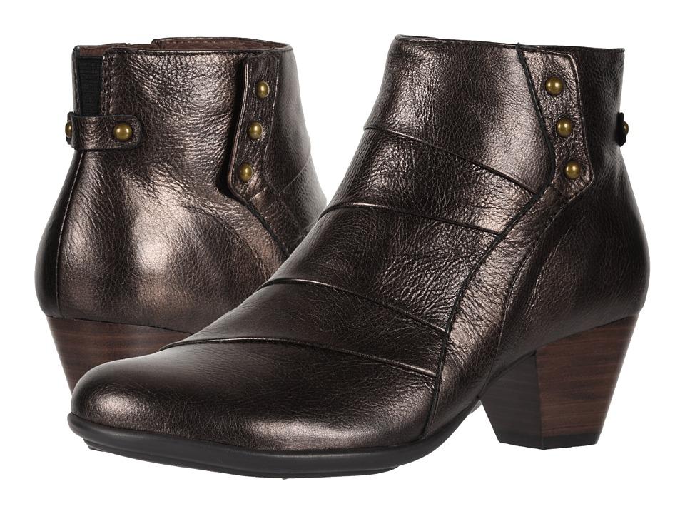 Earth Hope (Bronze Santos Medium Tipping Metallic Leather) Women's  Boots