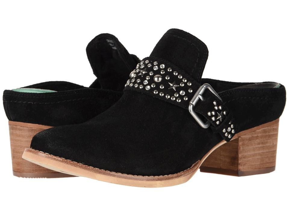 Earth Denton (Black Suede) Women's Shoes