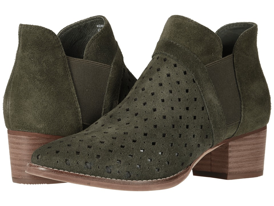 Earth Keren (Olive Suede) Women's Pull-on Boots