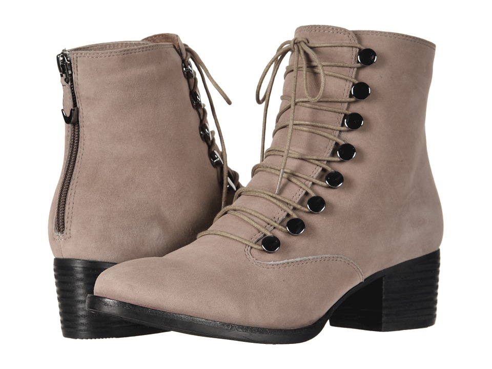 Earth Doral (Taupe Suede) Women's Lace-up Boots