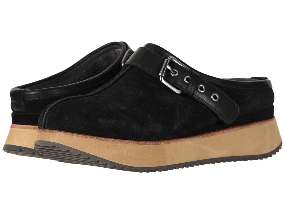 Earth Lyra (Black Suede) Women's Shoes
