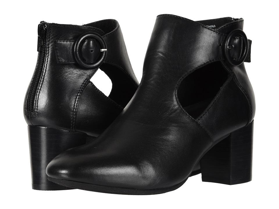 Earth Corinth (Black Soft Calf) Women's Pull-on Boots