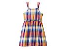Tommy Hilfiger Kids Plaid Cut Out Dress (Big Kids)