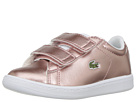 Lacoste Kids Carnaby Evo 318 (Toddler/Little Kid)