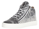 Giuseppe Zanotti May London Croc Print Mid Top Sneaker