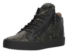 Giuseppe Zanotti May London Camo Mid Top Sneaker