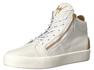 Giuseppe Zanotti May London Heel Plate Mid Top Sneaker