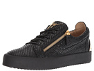 Giuseppe Zanotti May London Heel Plate Low Top Sneaker