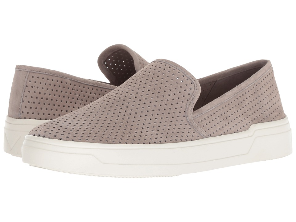 Via Spiga Galea 5 (Light Woodsmoke Suede) Slip-On Shoes