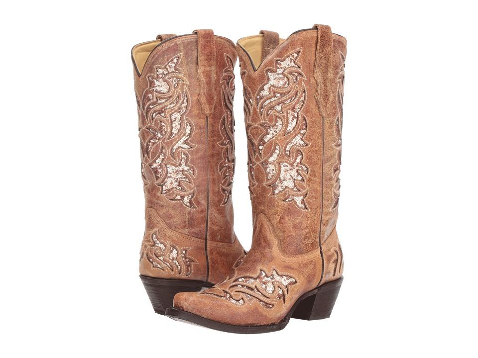 Corral Boots A3578 (Cognac) Women's Cowboy Boots