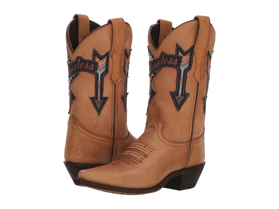 Laredo Eccentric (Tan) Women's Cowboy Boots