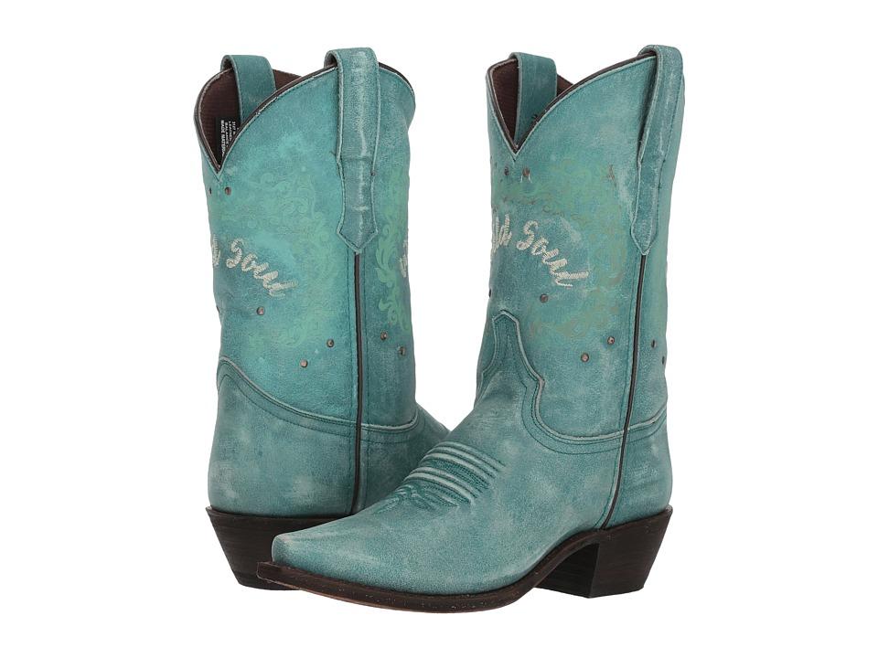 Laredo Riled Up (Turquoise) Women's Cowboy Boots
