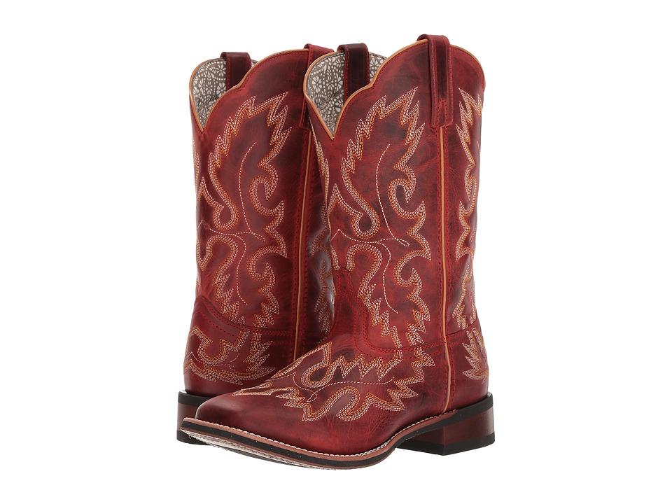 Laredo Eva (Red) Women's Cowboy Boots