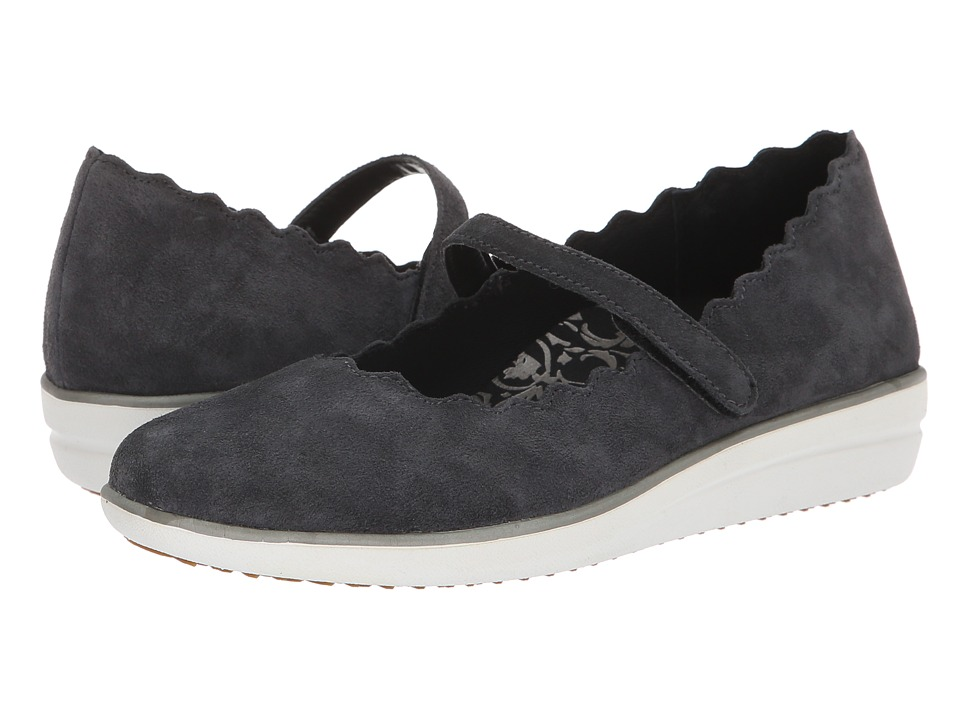 Aetrex June (Charcoal) Slip-On Shoes