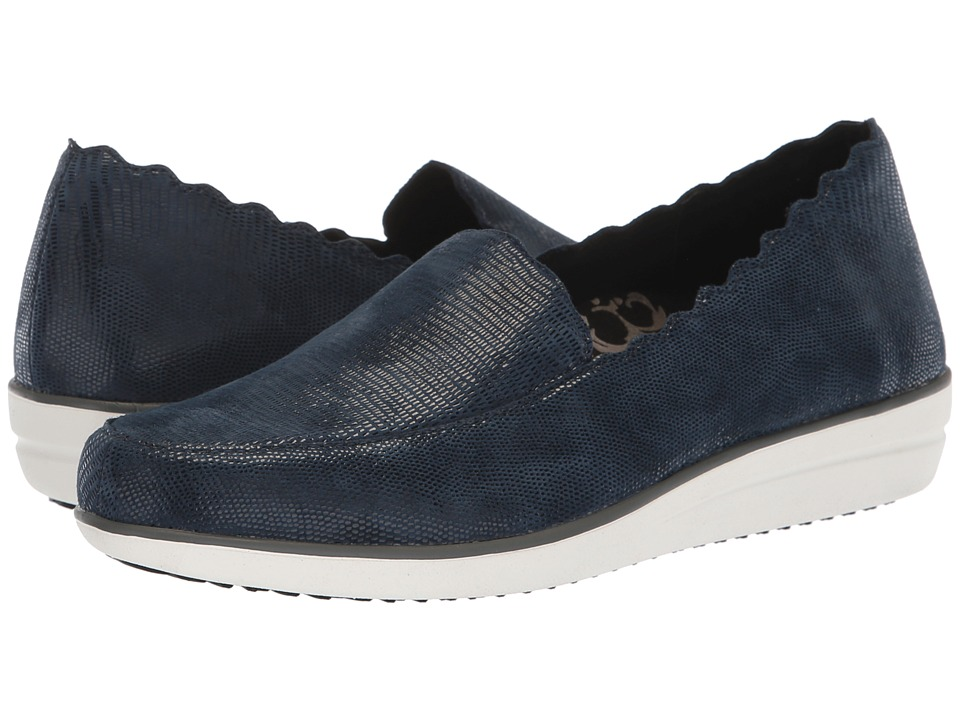 Aetrex Christie (Blue Snake) Slip-On Shoes