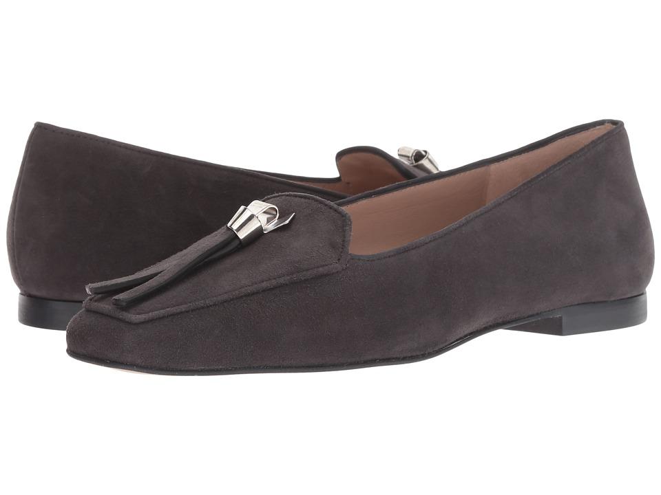 Stuart Weitzman Slipknot (Asphalt Suede) Women's Shoes