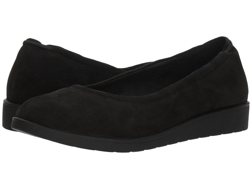 Eileen Fisher Honest (Black Nubuck) Women's Shoes