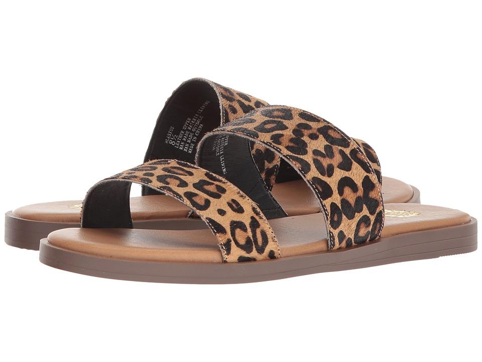 Yellow Box Blasius (Leopard) Sandals