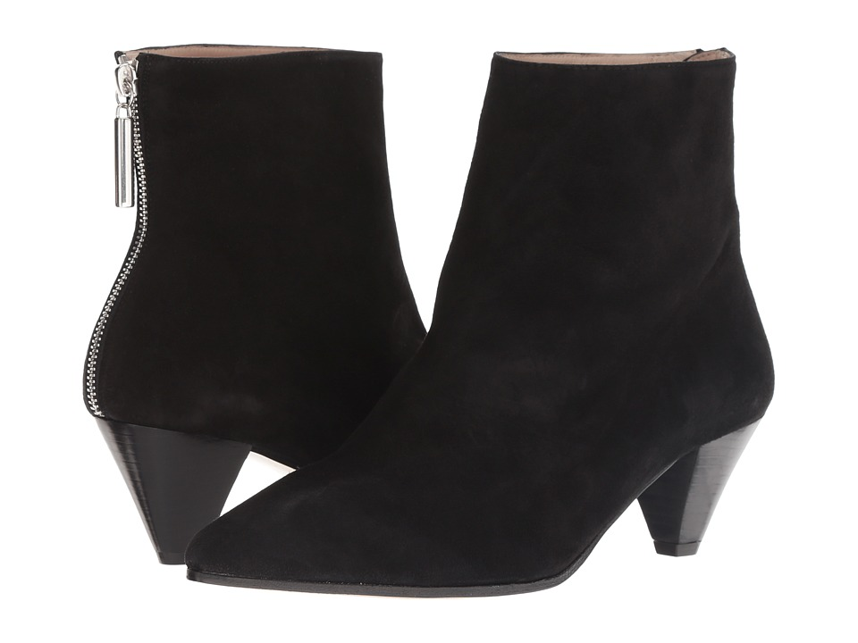 Stuart Weitzman Pyramid (Black Suede) Women's Shoes