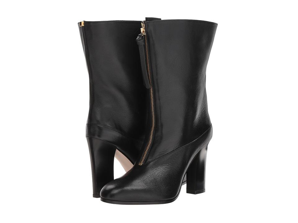 Stuart Weitzman Jett (Nero Nubo) Women's Shoes