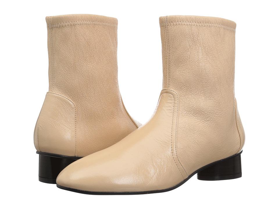 Stuart Weitzman Quebec (Cafe Gleaming Tripon) Women's Slip-on Dress Shoes